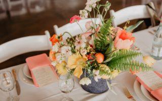 Décoration florale pour mariage